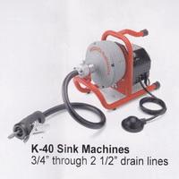 ridgid 36018 k 45 sink machine